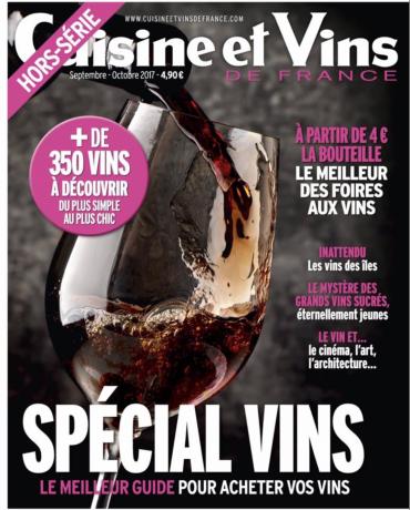 Cuisine et Vins - Borie la Vitarèle 2017
