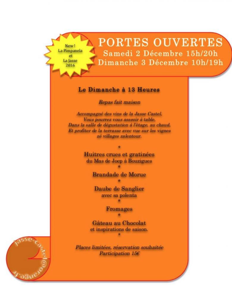 Jasse Castel - Portes Ouvertes décembre 2017