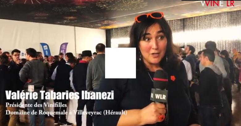 Interview de Valérie Tabaries-Ibanez du Domaine de Roquemale dans WINE LR - 28 janvier 2018