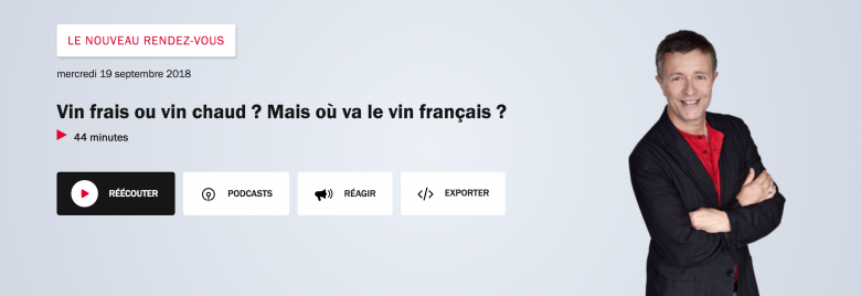 NRV France Inter - blog sept. 2018