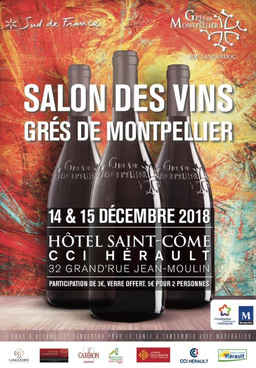 Salon des Vins des Grés de Montpellier décembre 2018