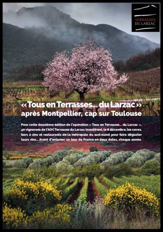 Tous en Terrasses... du Larzac - à Toulouse le 8 décembre 2018