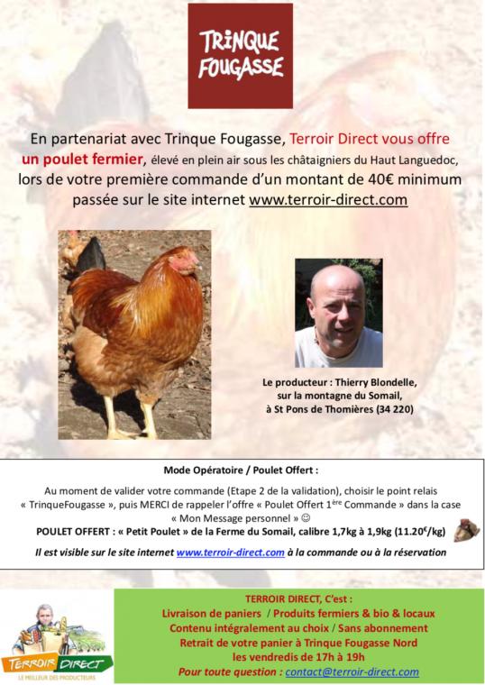 Terroir Direct - offre pour première commande