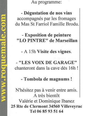 Domaine de Roquemale 31 mars 2019