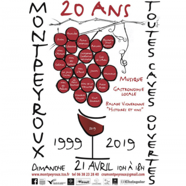 Toutes Caves Ouvertes Montpeyroux 2019
