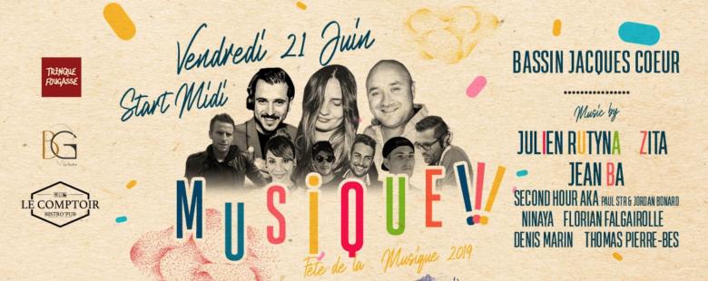 Fête de la Musique au Bassin Jacques Coeur à Montpellier - 2019
