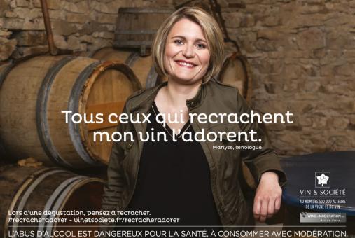 Vin&Société 2019 - Tous ceux qui recrachent mon vin l'adorent