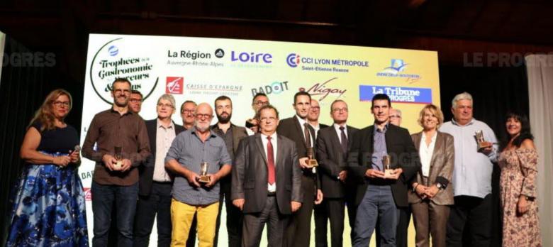 Les Trophées de la gastronomie, des saveurs et des vins 2019 - Pierre Gaillard