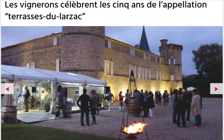 la Soulenque des Terrasses du Larzac 2019 - Midi Libre
