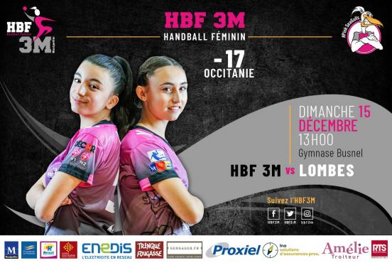 HBF 3 M handball féminin parteranariat