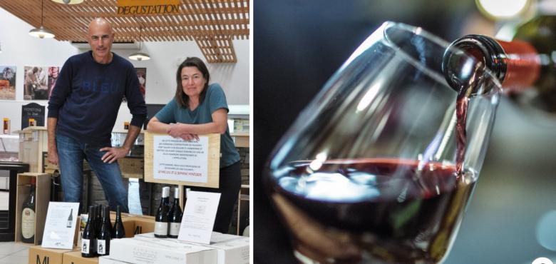 La coopérative de Faugères vient en aide à ses voisins vignerons - La RVF 28 avril 2020 - Idelette Fritsch