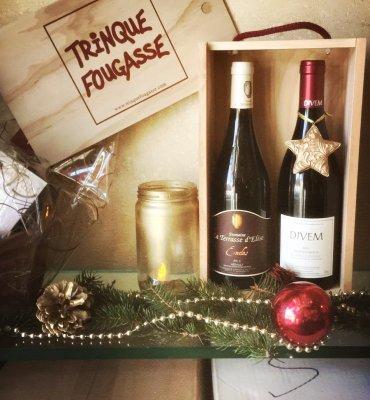 Paniers et coffrets Trinquefougasse de Noël 1