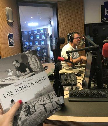 France Bleu Hérault , Les Héros de la Vigne par Etienne Davodeau, roman graphique - Patricia Huczek - Blog TrinqueFougasse