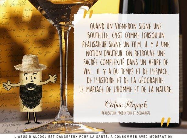 Vin et Société - citation Cédric Klapisch