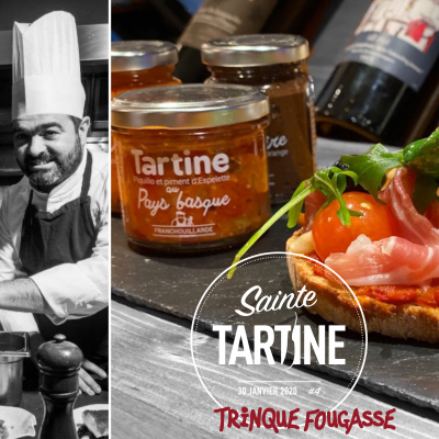 Paul Courteaux Sainte Tartine 2020 Rue Traversette