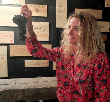 Audrey Martinez - La Wine-ista - Les femmes du vin au fil du raisin