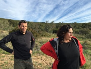 Dégustation des vins du Domaine de Roquemale avec Valérie