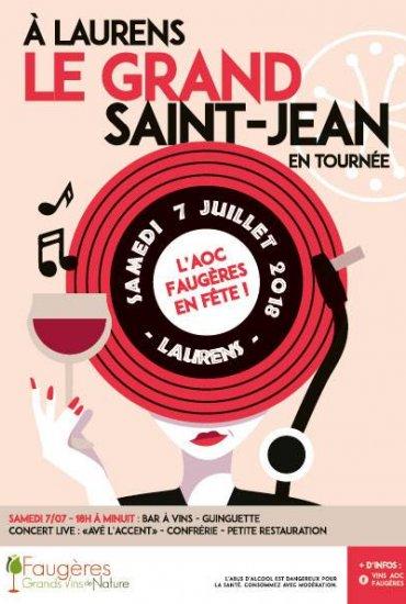 Grand Saint JEan 2018 Faugères