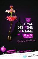 Affiche 21ème Festival des Vins d'Aniane - 19, 20, 21 juillet 2019