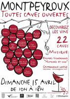 Toutes Caves Ouvertes Montpeyroux 15 avril 2018