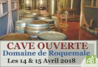 Cave Ouverte Roquemale avril 2018