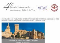 4èmes JOURNÉES INTERNATIONALES DES AMATEURS ÉCLAIRÉS DE VINS