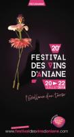 Programme Festival des Vins d'Aniane 2018 / visuel