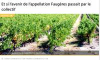 Faugères dans Midi Libre août 2019