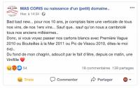 Vinothèque du Mas Coris dérobée en décembre 2019