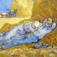 Sieste Van Gogh