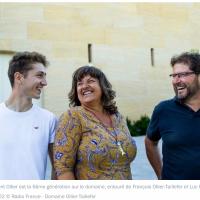 6ème génération au Domaine Ollier-Taillefer - France Bleu Hérault juin 2020