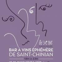 Bars à vins éphémères St Chinian 2020
