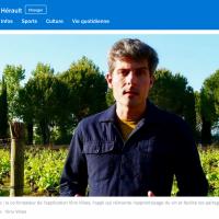 Pascale Barbe - Vino Vibes - France Bleu Hérault