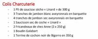 Colis Charcuterie - La Table de Solange 2020