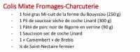 Colis mixte Fromage Charcuterie - La Table de Solange 2020
