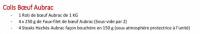 Colis de Boeuf Aubras - La Table de Solange 2020