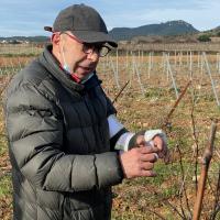 Sylvain Fadat - vigneron de l'année 2021 RVF - visite de février 2021