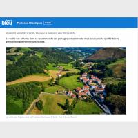 Vallée des Aldudes sur France Bleu - août 2021