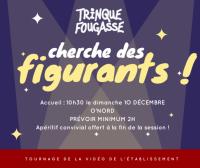 ON CHERCHE DES FIGURANTS - tournage O'Nord le 10 décembre 2017
