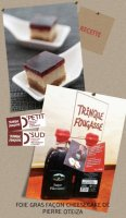 Recette de Pierre Oteiza : sauce Pika Gorri - foie gras façon cheesecake