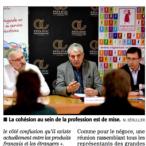 Les IGP Pays d'Oc + les Vignerons indépendants contre la montée des vins espagnols // Midi Libre mars 2017