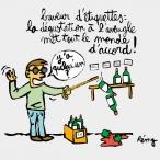 (c) Rémy - dessin - buveurs d'étiquettes - Niouze 294
