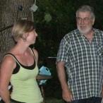 Marie Pêcheur et André Moulière - Domaine de Sigalière - Transmission du domaine, juin 2014 © Midi Libre