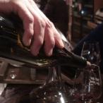Verre Trinque Fougasse vin rouge bar à vins