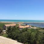Vins de Maguelonne - vue du haut de l'abbaye - juillet 2014