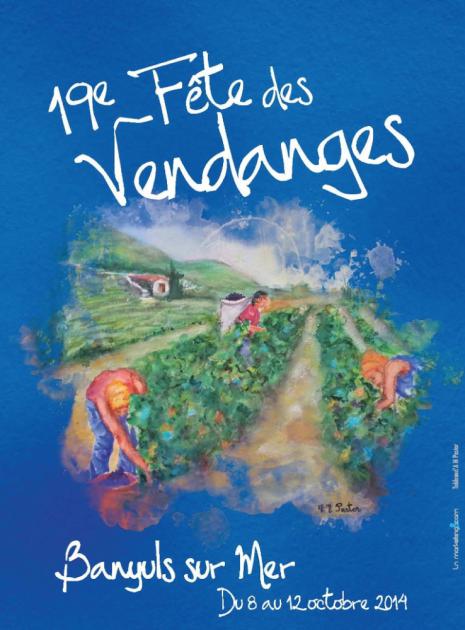 19ème Fête des Vendanges à Banyuls - du 8 au 12 octobre 2014