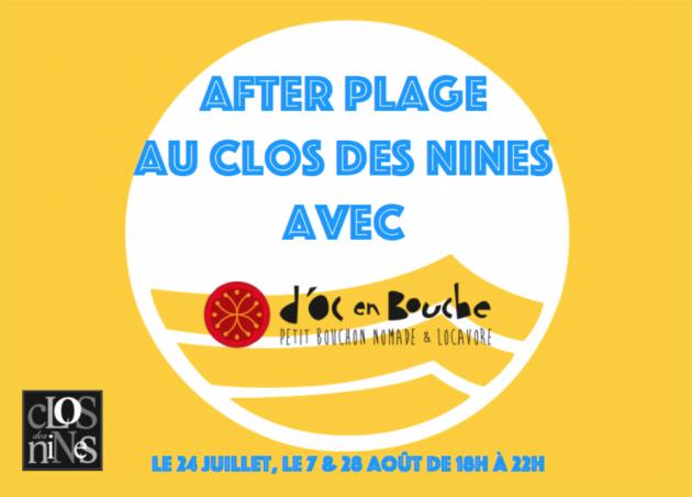 After-Plage au Clos des Nines - Summer 2015