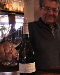 Alain OLLIER au bar à vins