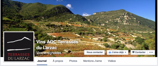 AOC TERRASSES DU LARZAC sur Facebook