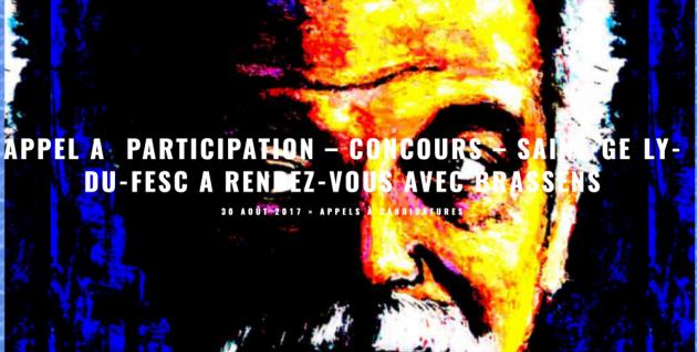 Appel à participation artistique - Brassens à St-Gély - 2017